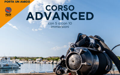 ADVANCED OPEN WATER DIVER COURSE with 5 DIVES